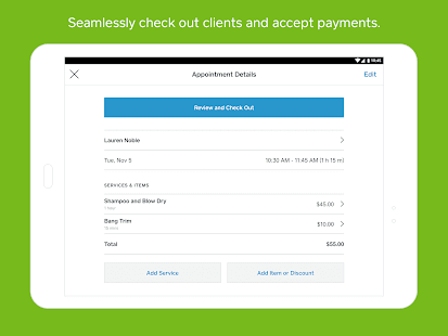 Square Appointments: Booking, Scheduling, Payments Screenshot