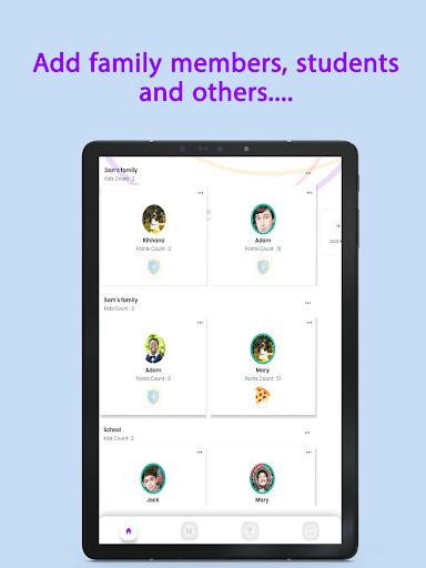Points - Behavior tasks rewards  Screenshots 6