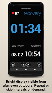 Tabata Timer and HIIT Timer MOD APK (Pro / Paid Unlocked) 2