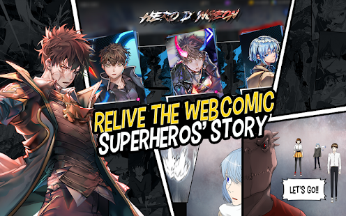 Hero Cantare with WEBTOON™ Screenshot