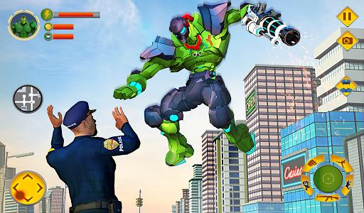 Incredible Monster Robot Hero Crime Shooting Game modavailable screenshots 9