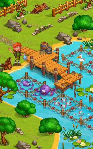 North Dragon Island - build Vikings Farm  screenshots 4