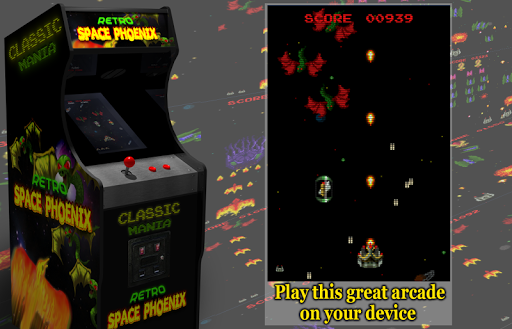 Retro Space Phoenix screenshots 2