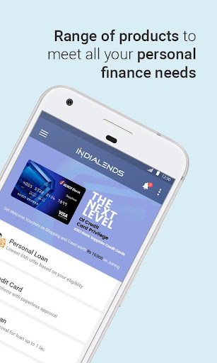 IndiaLends - Instant Personal Loan & Credit Cards  screenshots 2