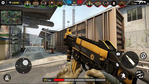Real Commando Action Shooting Games - Gun Games 3D  APK MOD (Astuce) screenshots 1