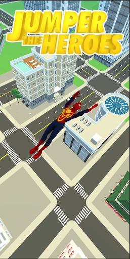 Superhero Flip Jump:Spider Sky  screenshots 5