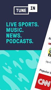 TuneIn Radio: News, Sports, Music & Radio Stations MOD APK V26.1 – (Premium Unlocked) 1