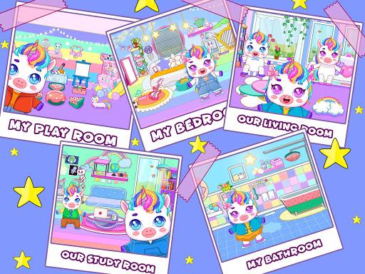 Mini Town: Unicorn Home 1.5 screenshots 13