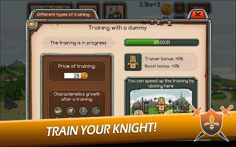 Knight Joust Idle Tycoon Mod Apk (Unlimited Money) 3