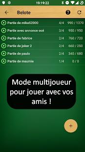 French Belote  APK screenshots 4