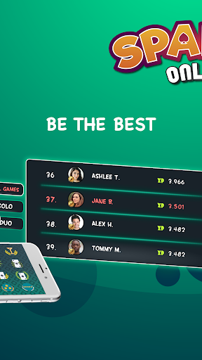 Spades - Play Free Online Spades Multiplayer apkpoly screenshots 2