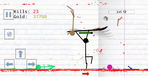 Stickman Physics Battle Arena  screenshots 12