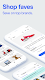 screenshot of eBay marketplace: Buy, sell & save money on brands