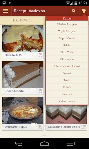 Recepti - Kuvar 1.0.11 Screenshots 2