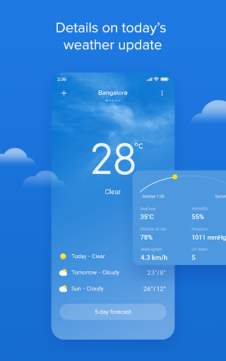 Weather - By Xiaomi modavailable screenshots 1