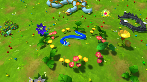 Snake Rivals - New Snake Games in 3D apktreat screenshots 1