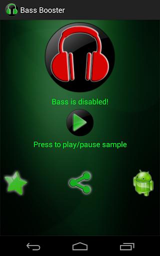 Bass Booster  screenshots 1