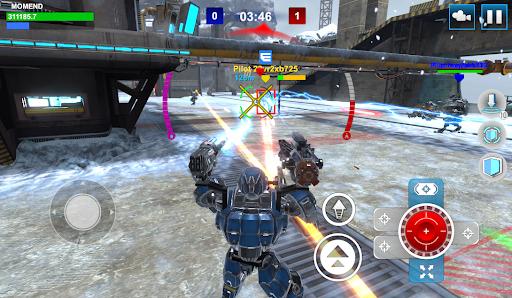 Mech Wars: Multiplayer Robots Battle modavailable screenshots 5