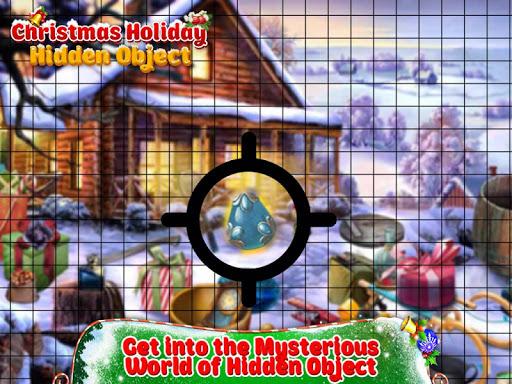 new christmas hidden objects 2018: mystery finding screenshot 1