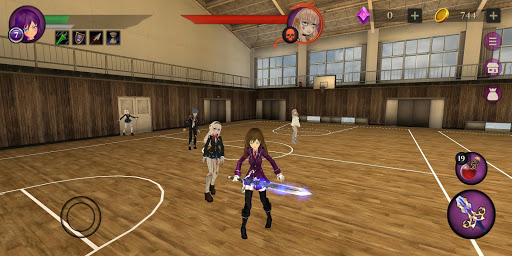 Anime High School Zombie Simulator apkpoly screenshots 16