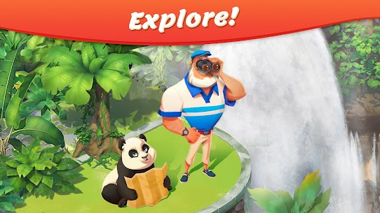 Tropical Forest: Match 3 Story Mod Apk (Unlimited Money) 6