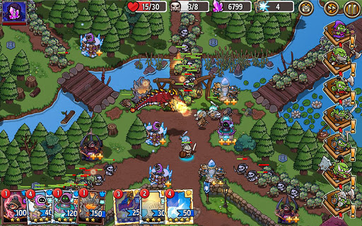 Crazy Defense Heroes: Tower Defense Strategy Game 2.4.0 screenshots 23