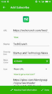 Rolly RSS Reader