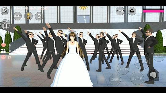 SAKURA School Simulator (MOD, Unlimited Money, Unlocked All) 2