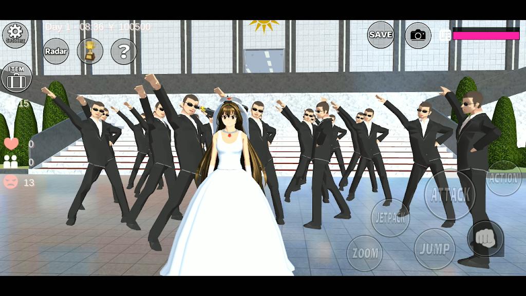 SAKURA School Simulator  poster 1