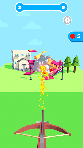 Slingshot Smash: Shooting Range android2mod screenshots 4
