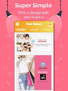 Social Media Post Maker, Planner, Graphic Design