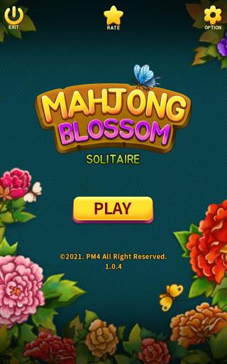 Mahjong Blossom Solitaire 1.0.5 screenshots 1
