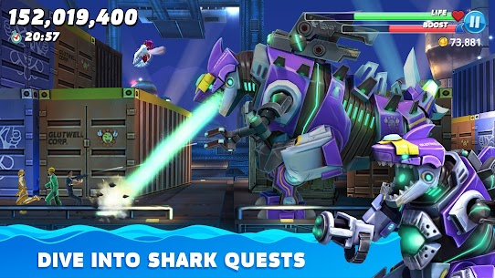 Hungry Shark World APK MOD 4.4.2 (Unlimited Money) 7
