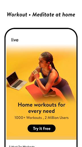 cult.fit Fitness, Meditation, Healthy food, Doctor  screenshots 3