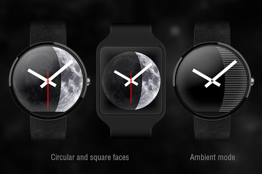Moon Phase PRO - Watch Face For PC Windows (7, 8, 10, 10X) & Mac Computer Image Number- 7