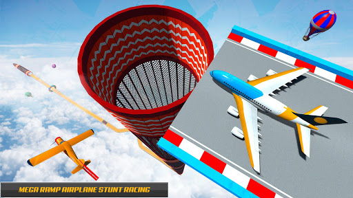 Plane Stunts 3D : Impossible Tracks Stunt Games apkmr screenshots 4