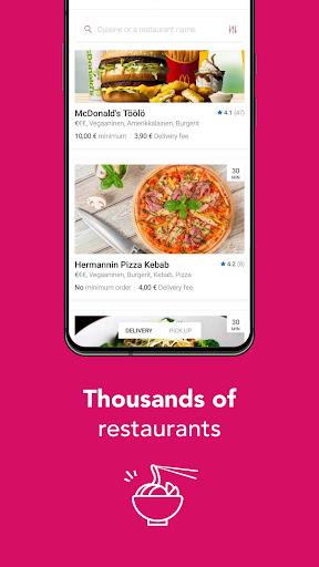 Foodora Finland 21.01.0 Screenshots 2