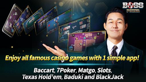 Boss Poker u2013 Texas Holdem Blackjack Baccarat  screenshots 3