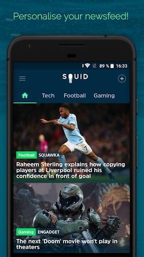 SQUID - News & Magazines 2.4.0 Screenshots 1