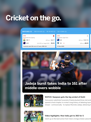 ESPNCricinfo - Live Cricket Scores, News & Videos 7.0 Screenshots 11