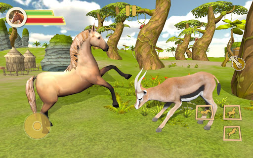 Ultimate Horse Simulator - Wild Horse Riding Game 0.2 screenshots 2
