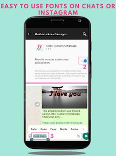 Fonts - Stylish Text & Cool Fonts 1.2.2 Screenshots 2