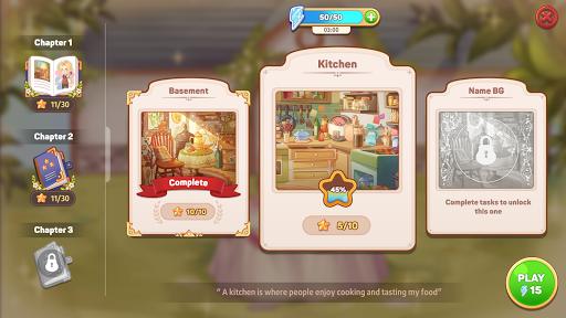 Kawaii Mansion: Cute Hidden Object Game apkpoly screenshots 6