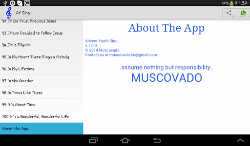 Advent Youth Sing  screenshots 3