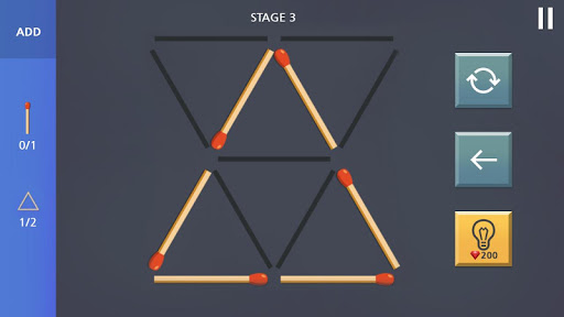 Matchstick Puzzle King  screenshots 1