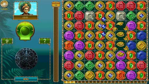 Treasure of Montezuma - 3 in a row games free  screenshots 1