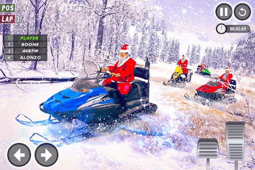 Santa Atv Snow Bike Racing 2020 : Quad Bike Race 1.1 Screenshots 13