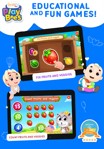 FirstCry PlayBees Play & Learn Kids and Baby Games 2.2 screenshots 17