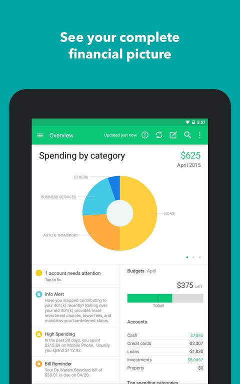 Mint: Budget, Bills, & Finance Tracker  poster 15