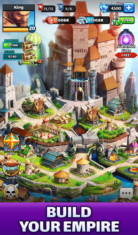 Empires & Puzzles: Match-3 RPG poster 15